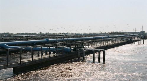 Таганрогский водоканал ограничил подачу воды под влиянием стихии