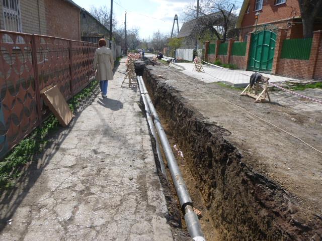 Прокладка теплотрассы в Таганроге
