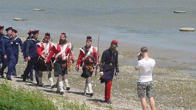Фестиваль оборона Таганрога в 1855 году