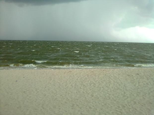 Море во время грозы Таганрог