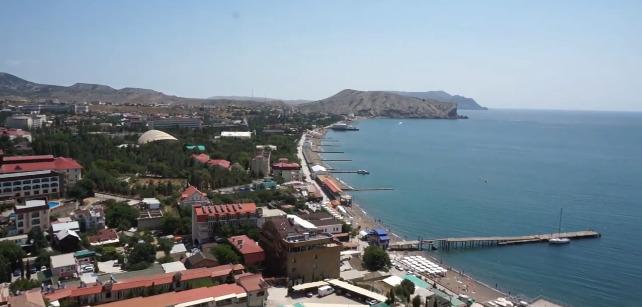 Крым Судак вид на море