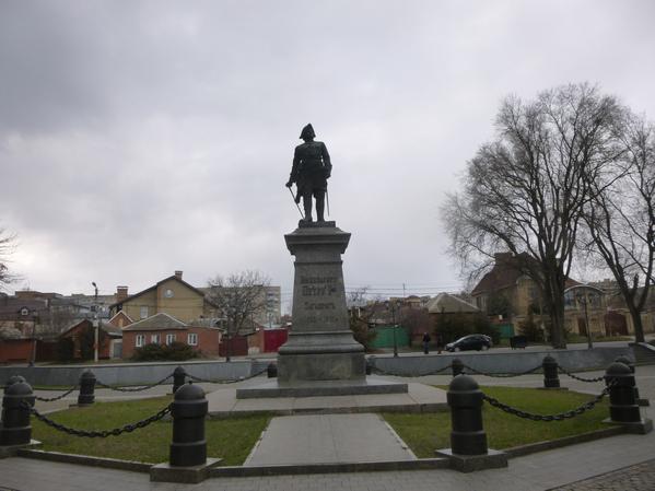 Публикация привет, мир представляет - памятник Петру Первому в Таганроге