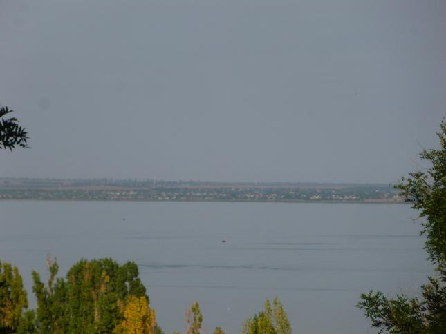 В Таганрогском заливе мираж