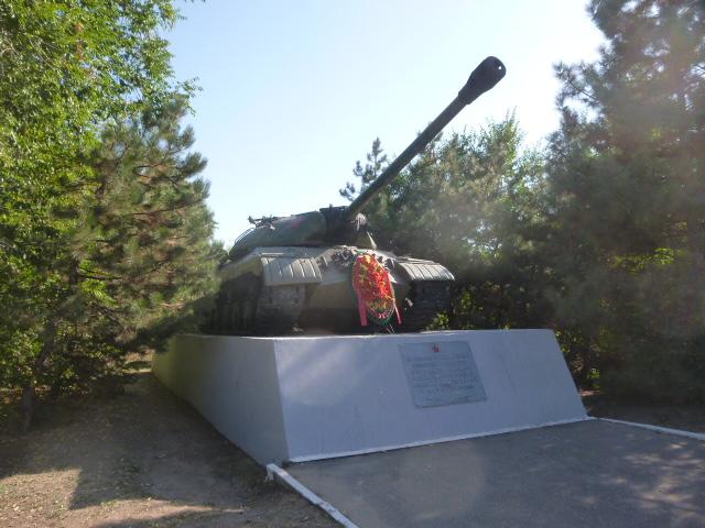 Памятник танк ИС-3М в Таганрогее