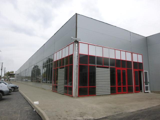Строящийся торговый центр в Таганроге на Москатова
