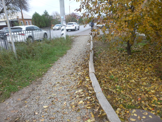 Тротуары Северного района Таганрога
