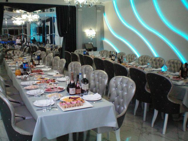 Ресторан Волна в Таганроге банкетный зал Новогоднего корпоратива