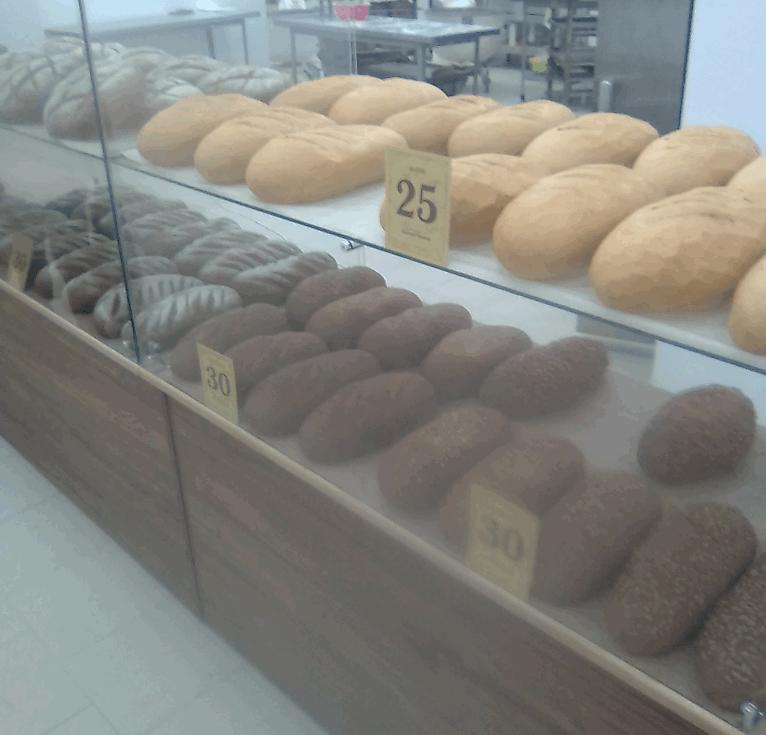 Стоимость хлеба в Таганроге