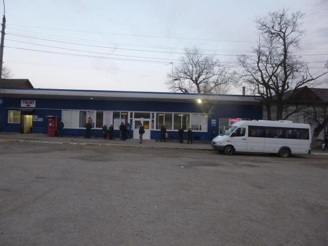 Путешествие из Таганрога в Луганск начинается с автовокзала