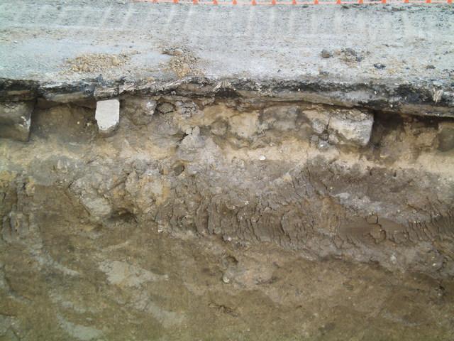 Культурные слои Таганрога при раскопках