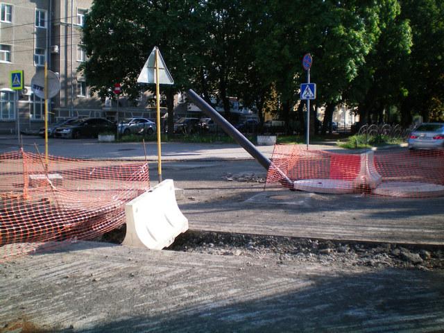 Реконструкция улицы Петровской в Таганроге
