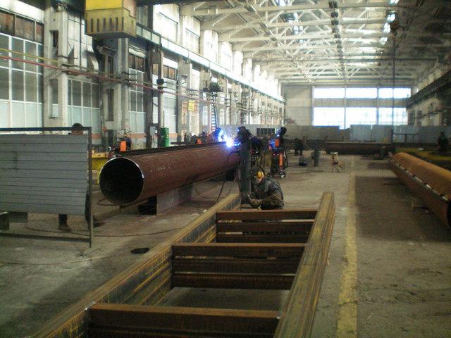 Цех по изготовлению металлоконструкций в Таганроге