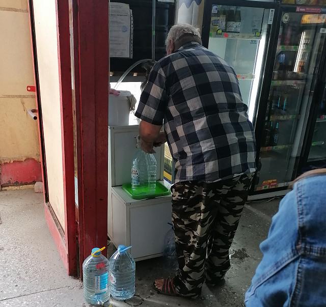 Покупка чистой воды в магазине