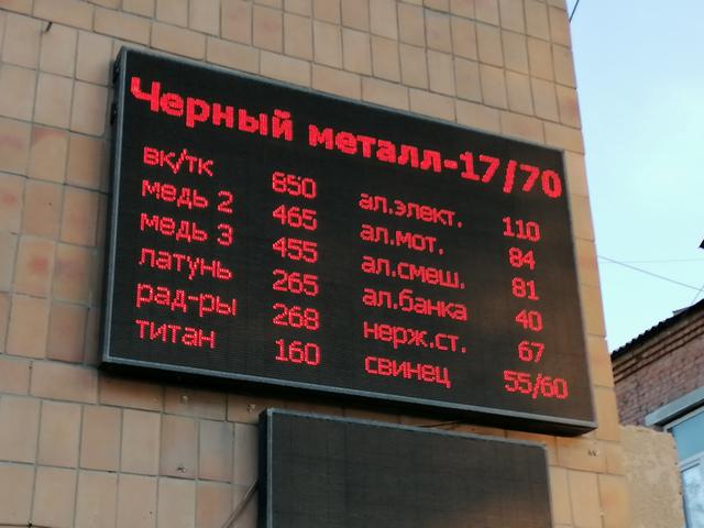 Металлолом в Таганроге цена