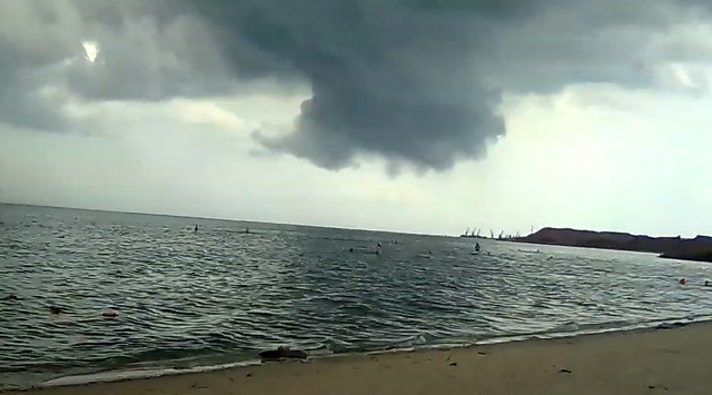Ураган в Таганроге