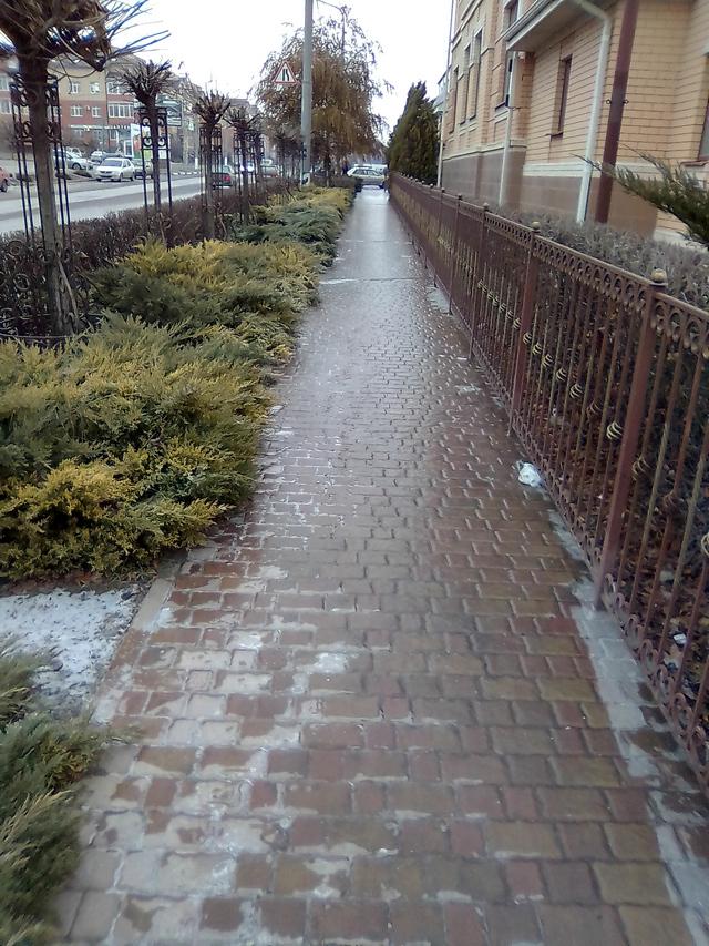Ледяной дождь в Таганроге