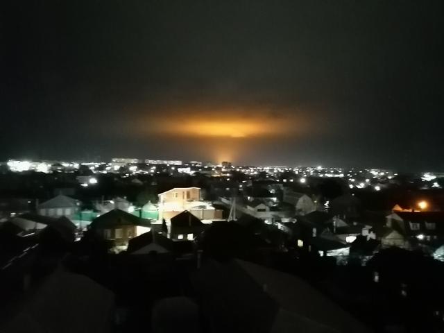 Уникальное атмосферное явление в Таганроге
