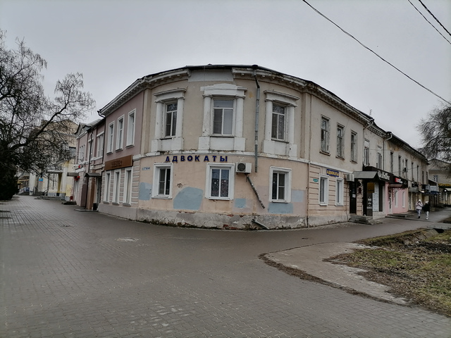 Таганрог пересечение улицы Петровской и Гоголевского переулка