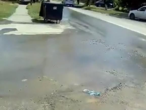Очередной потоп в Таганроге по вине водоканала