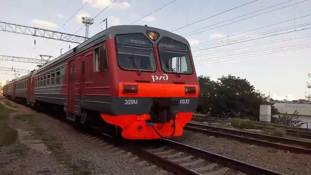 Электричка из Таганрога до Ростова удлиняет свой маршрут