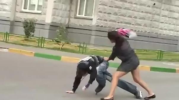 Женщина дала отпор бандиту в Таганроге