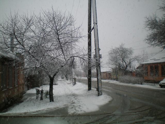 Снежный апокалипсис произошёл 23 марта 2021 года в Таганроге