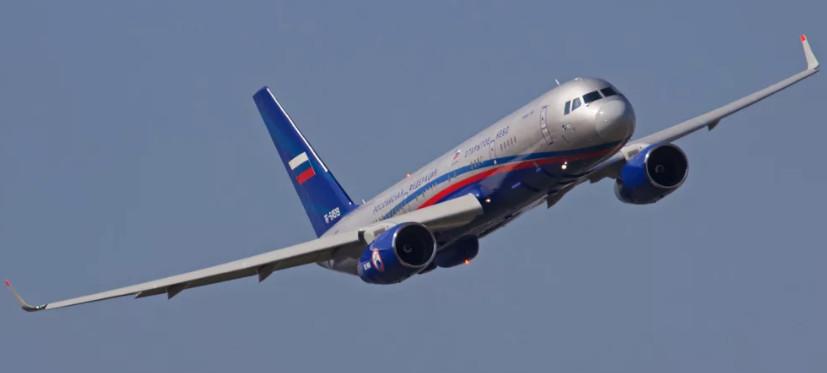 Ту-214ОН патрулирует воздушное пространство Таганрога