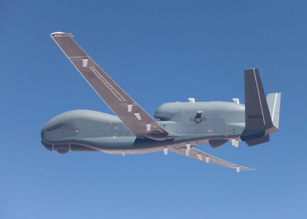 RQ-4A Global Hawk ВВС США осуществил разведывательный полёт вдоль границ ДНР