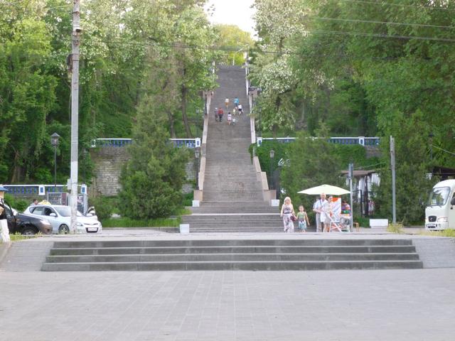 Каменная лестница в Таганроге легендарная достопримечательность города