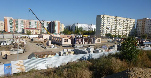 Строительство детского сада по улице Чучева в Таганроге