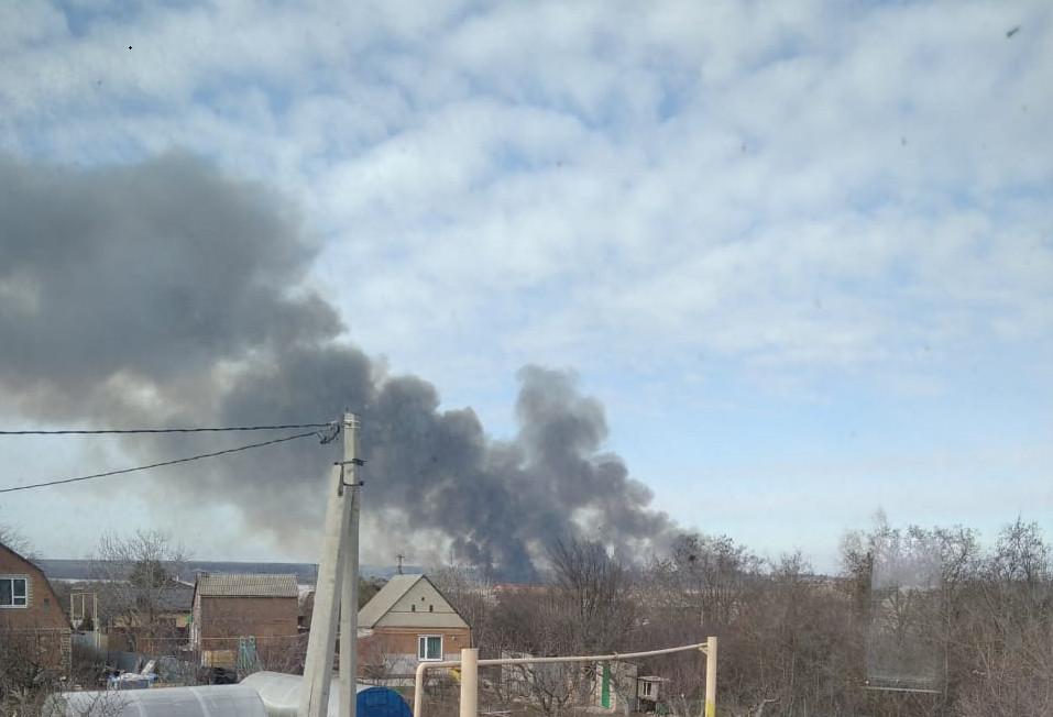 Мусорные пожары в Таганроге