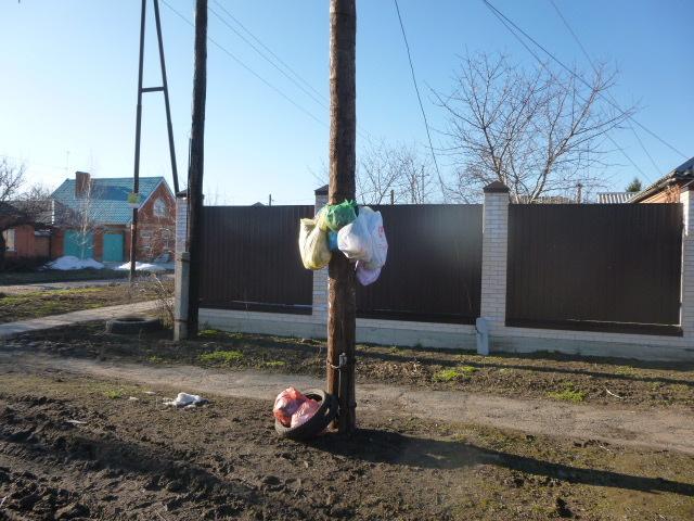Сбор мусора в Северном районе Таганрога