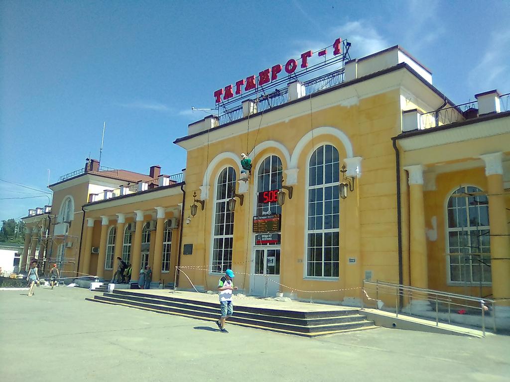Ремонт Нового вокзала в Таганроге